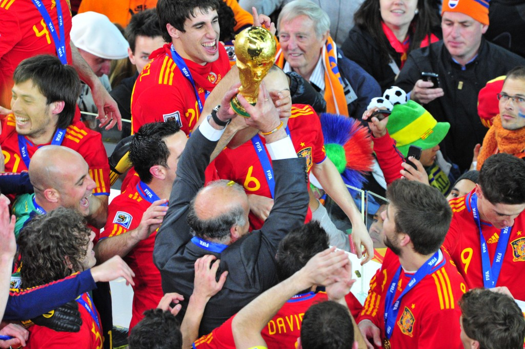 World Cup winners Spain